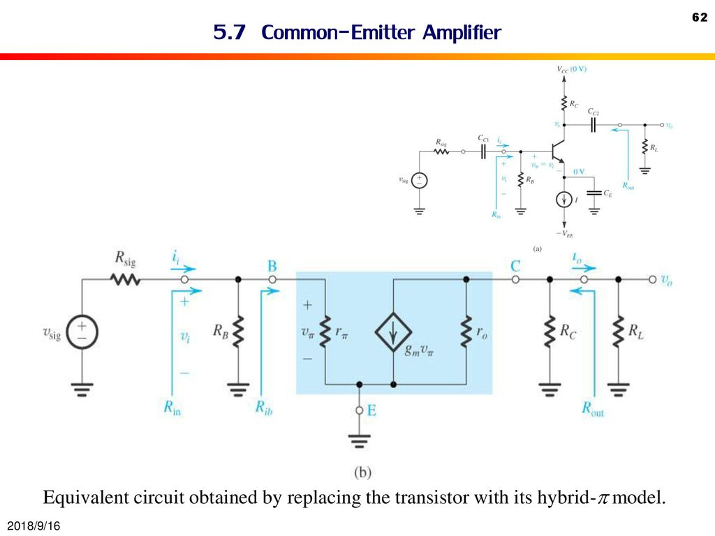 Bipolar Junction Transistor Bjt Ppt Download Common Emitter Circuit 57 Amplifier