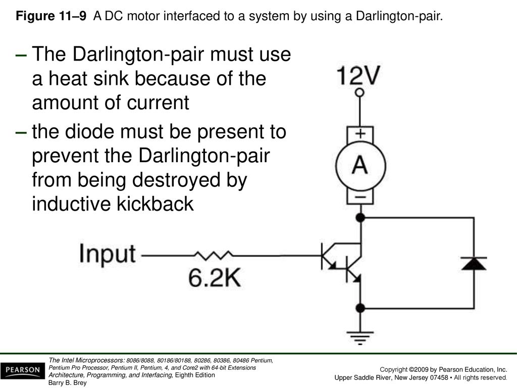 Chapter 11 Basic I O Interface Ppt Download Darlington Pair To Drive Dc Motor Schematic Diagram Wiring 42 Figure
