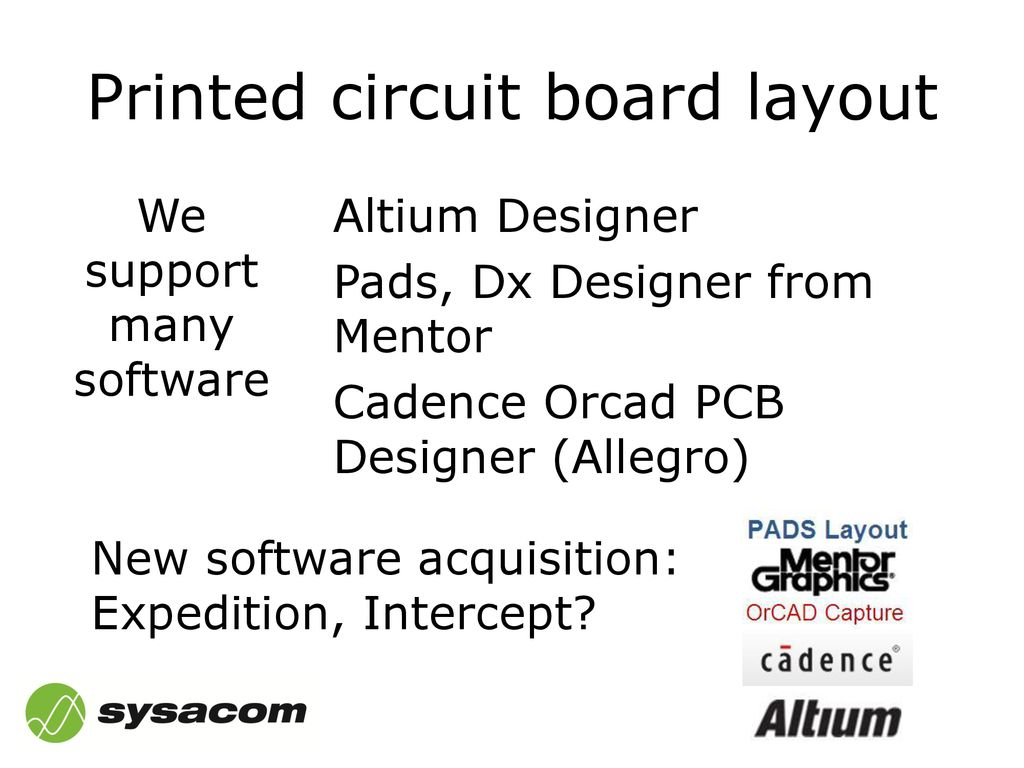 Ppt Download Circuit Board Designer Printed Layout