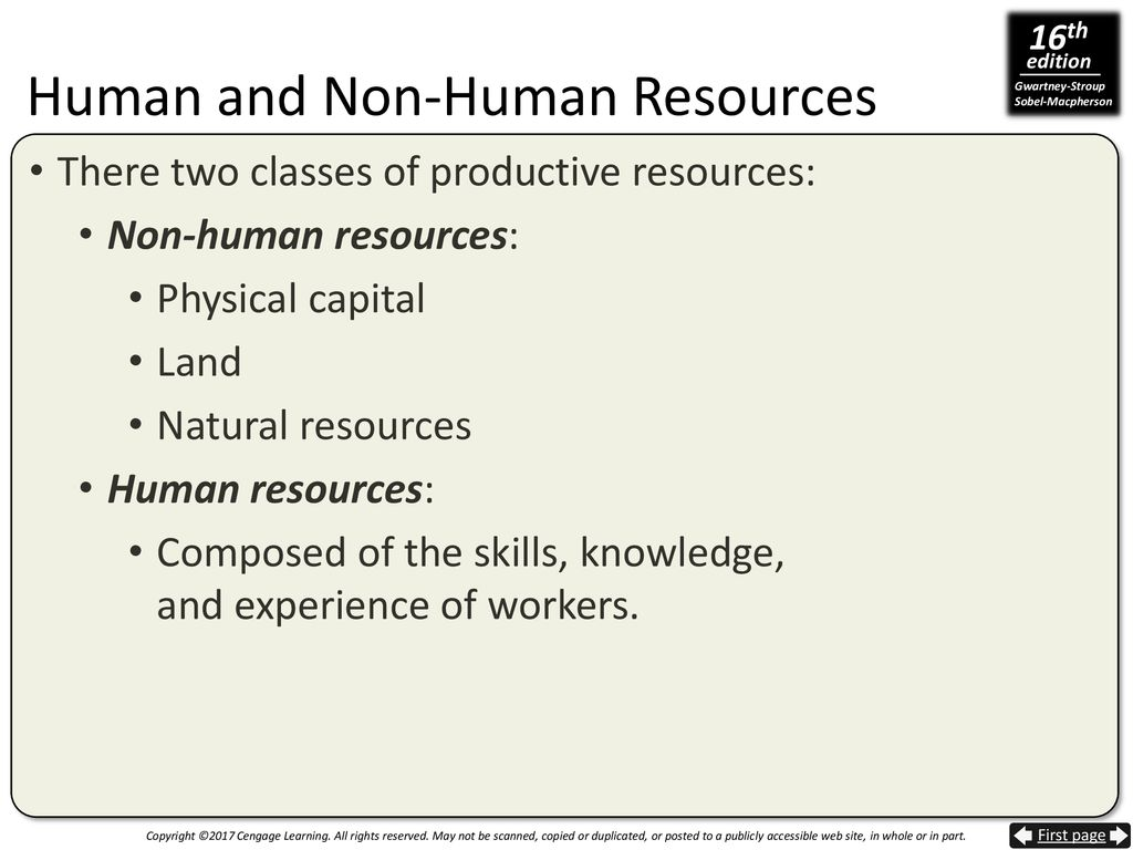 2 classes of natural resources