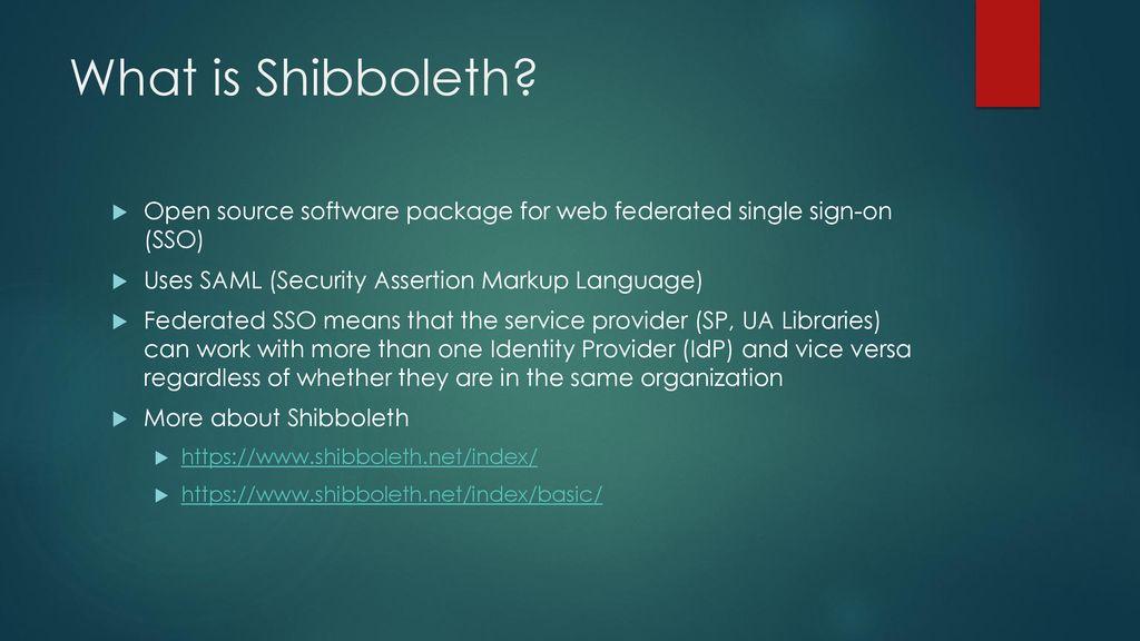 Shibboleth Implementation in EZproxy - ppt download