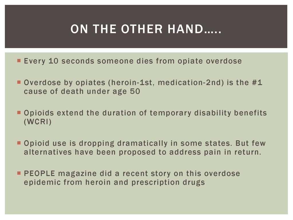 Americas opioid crisis - ppt download