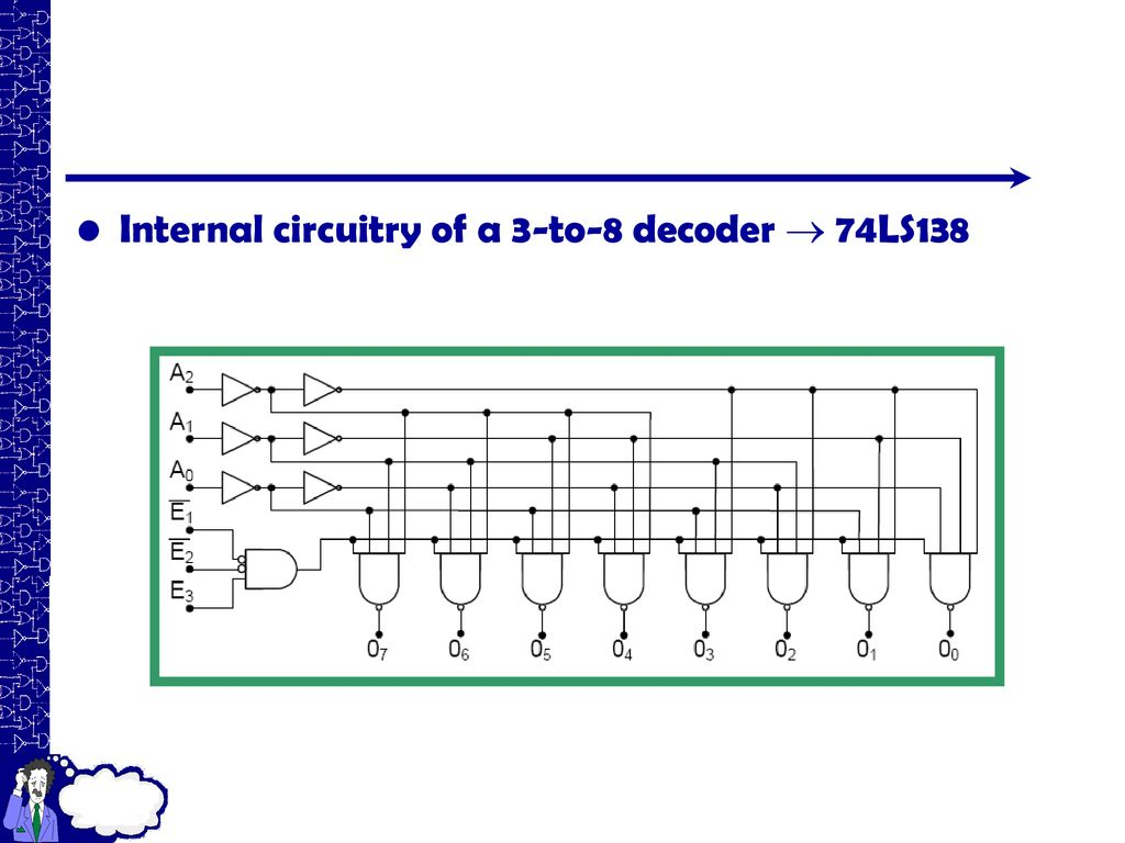 Block Diagram Of 3 To 8 Decoder Wiring Library Figure The Vital Electric Components Flash Circuitry 36 Internal A 74ls138