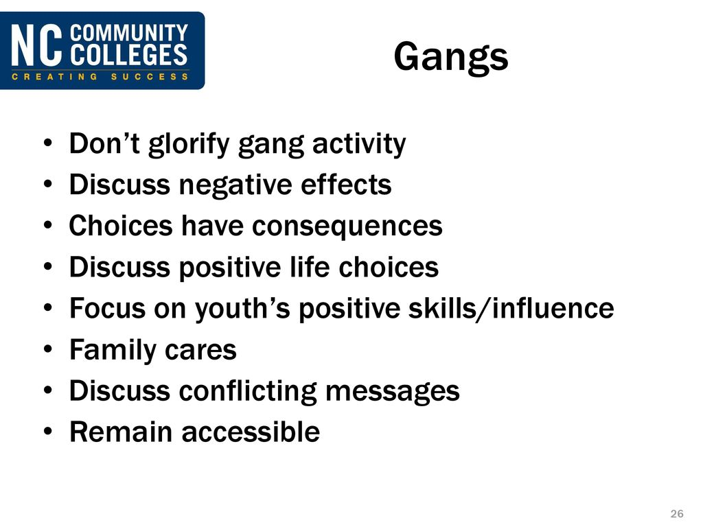 negative effects of gangs