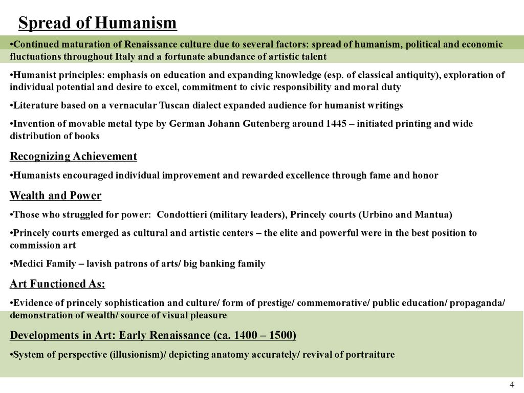 Humanism and the Allure of Antiquity: 15th Century Italian