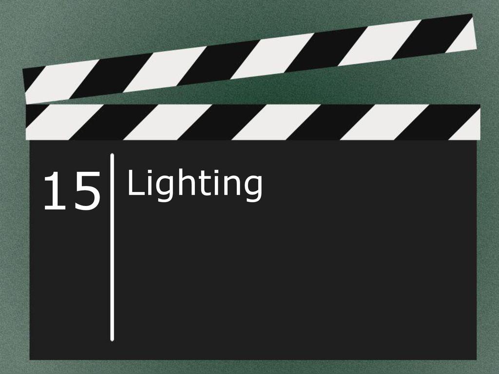 Lighting lighting objectives identify the various