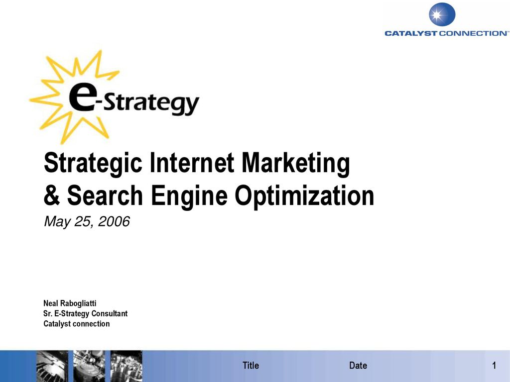 Search engine marketing explained by dating