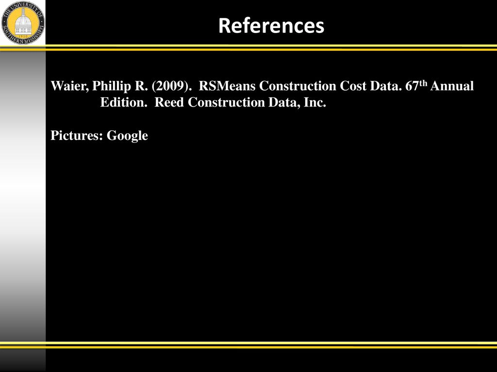 WRG-9165] Rsmeans Building Construction Cost Data 2009