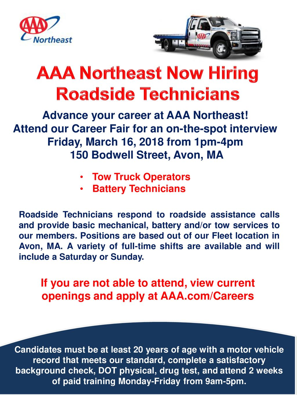 AAA Northeast Now Hiring Advance your career at AAA