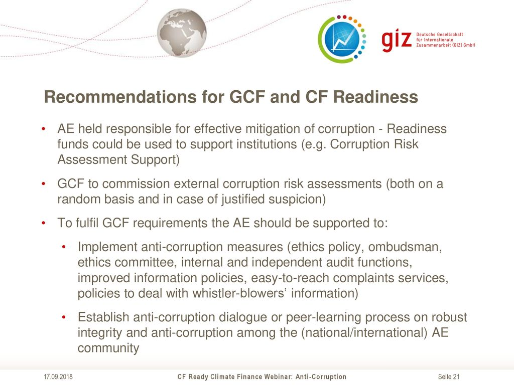 Cf Ready Climate Finance Webinar Ppt Download