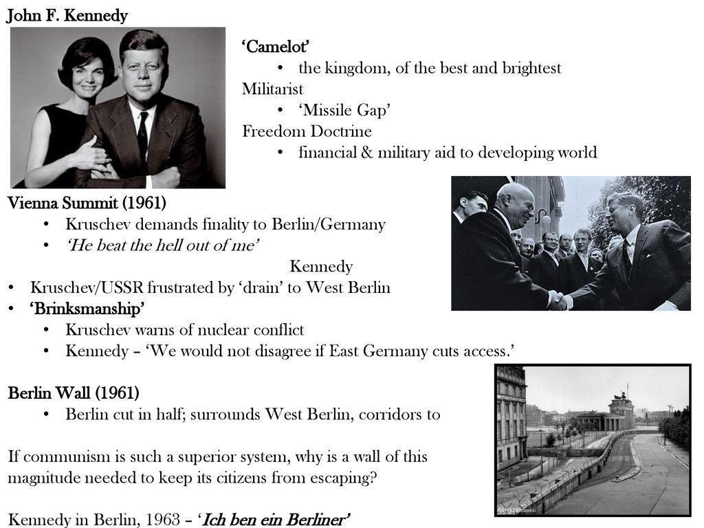 reunión de kennedy y kruschev viena 1961