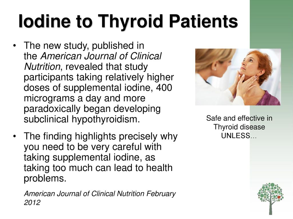 Iodine, Salt and the Thyroid Gland - ppt download