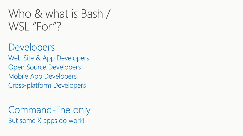How Does Wsl Work