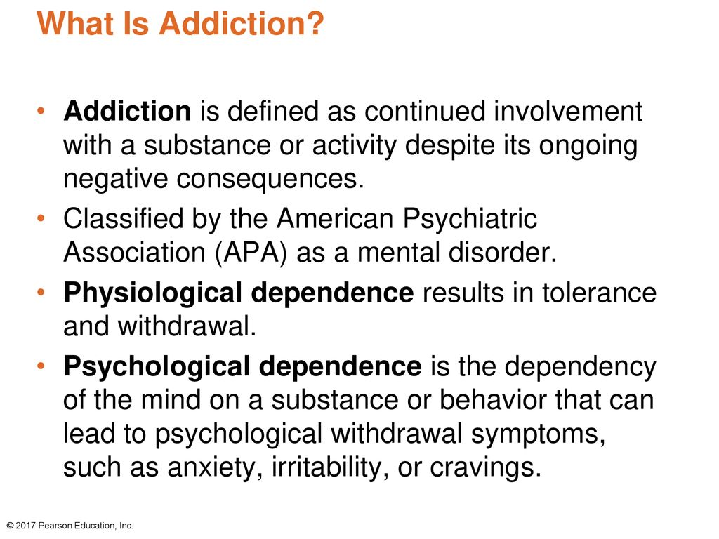 chapter 7: recognizing and avoiding addiction and drug abuse - ppt