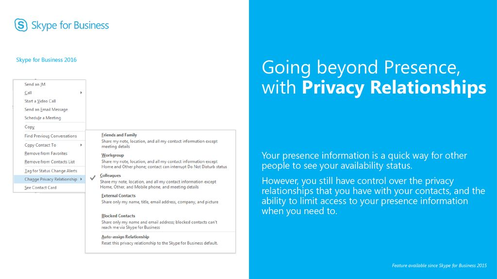 Microsoft Skype for Business ppt download