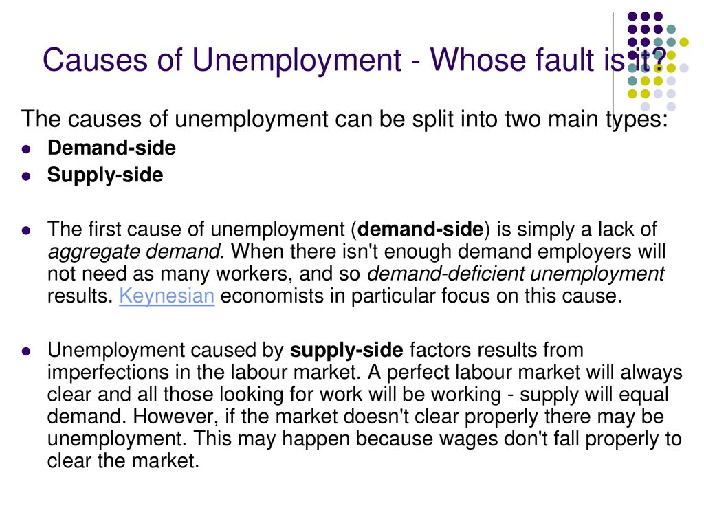 two main types of unemployment