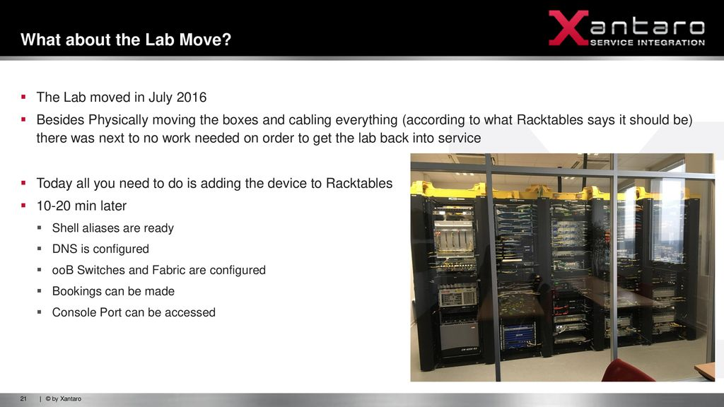 Automation for Network Lab Enviroments - ppt download