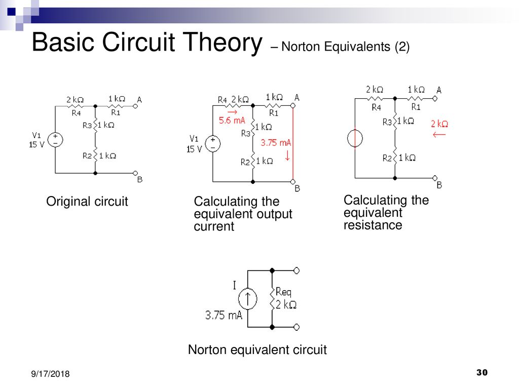 Delaware Science Olympiad Shock Value Circuit Lab Workshop Ppt Diagram Resistance Calculator Basic Theory Norton Equivalents 2