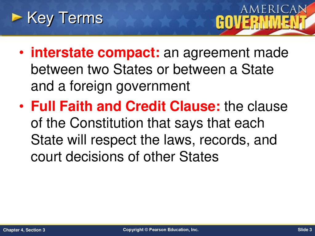 Chapter 4 Federalism Section 3 Ppt Download