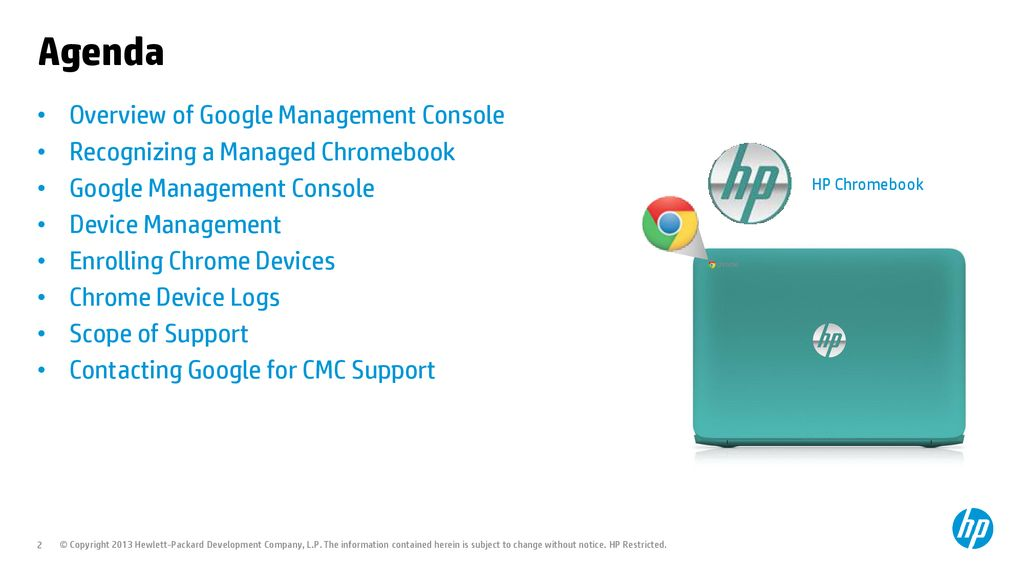HP & Google - Chrome Management Console Training - ppt download
