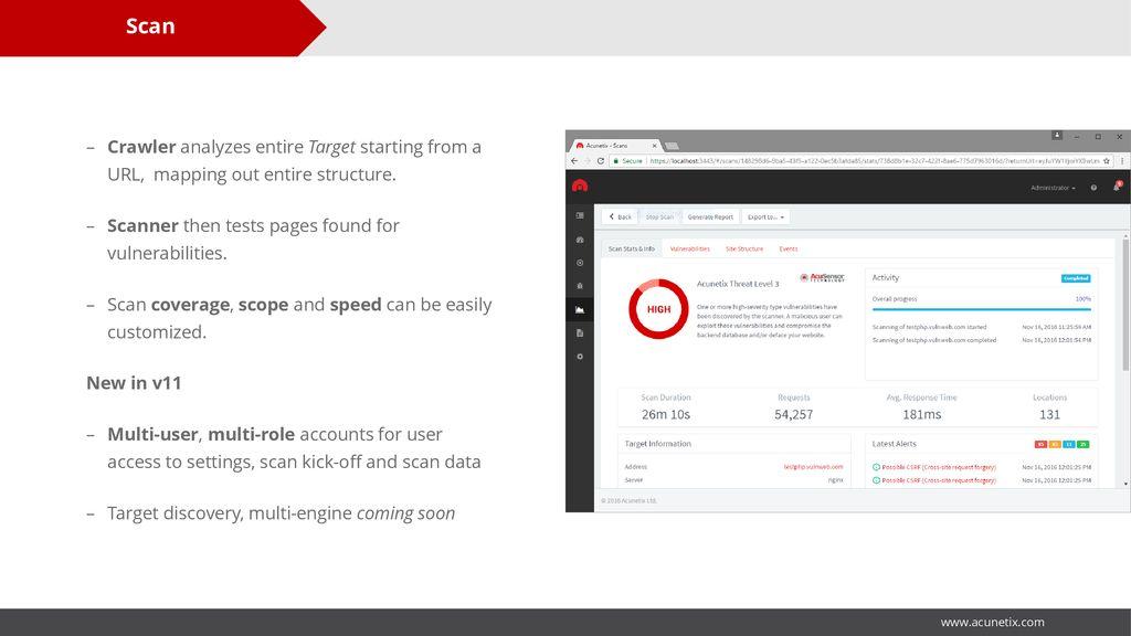 Acunetix v11 Is Your Website Hackable? - ppt download