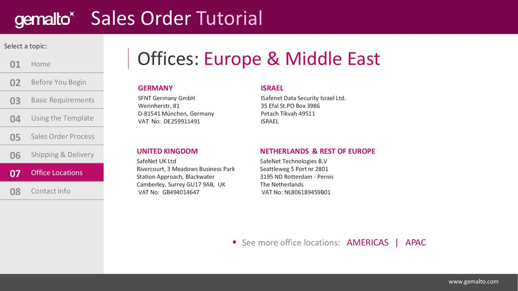 Quick Start Guide How to Create a Sales Order - ppt download