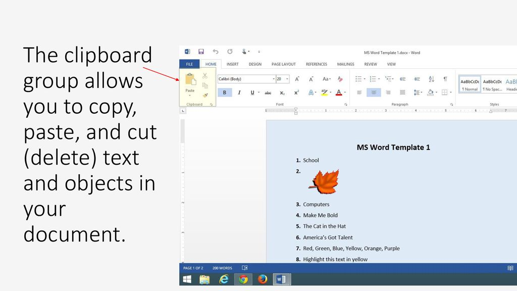 Introduction to Microsoft Word Part 1 - ppt download