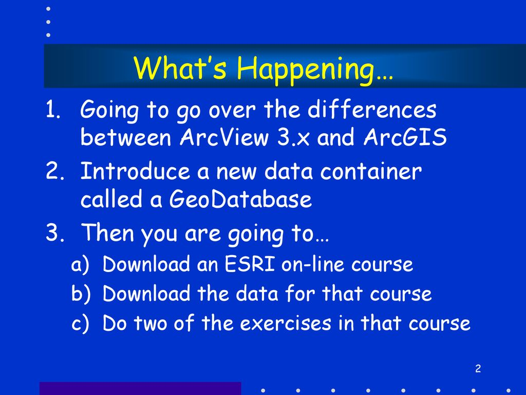 Introduction to ArcGIS - ppt download