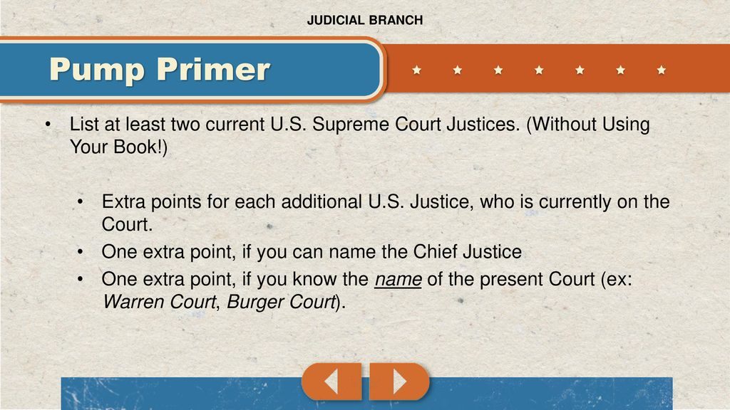 Judicial Branch Pump Primer - ppt download