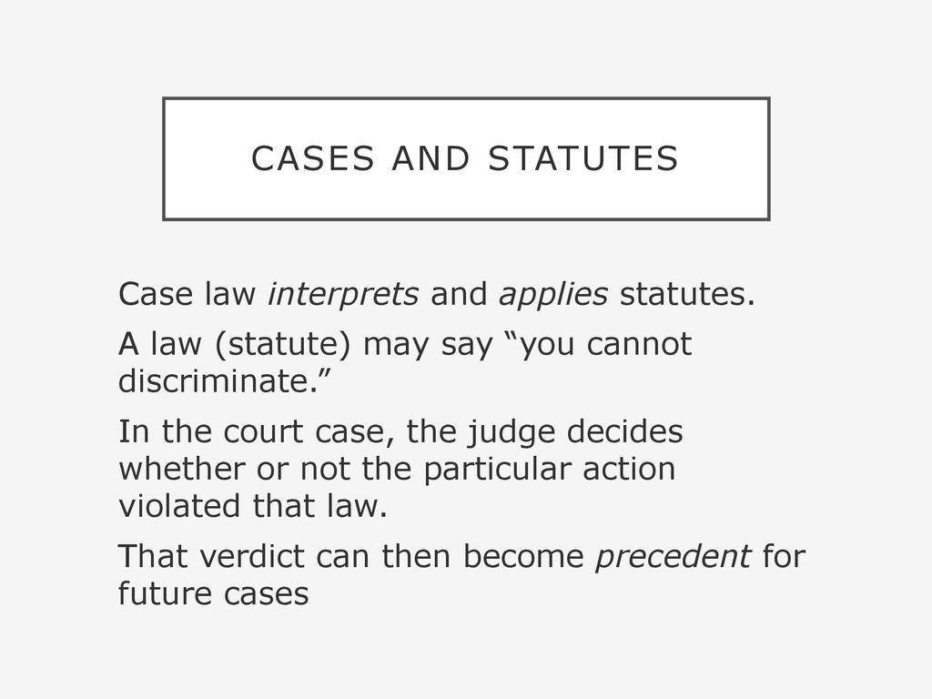 Legal Basics. - ppt download