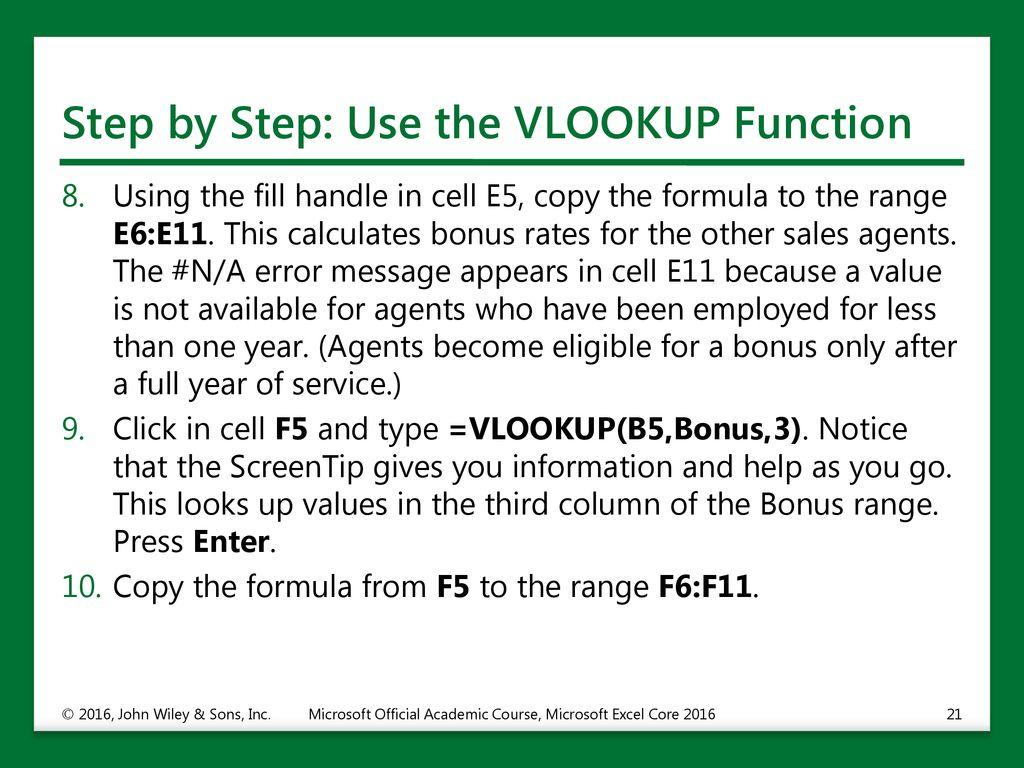 Using Advanced Formulas - ppt download