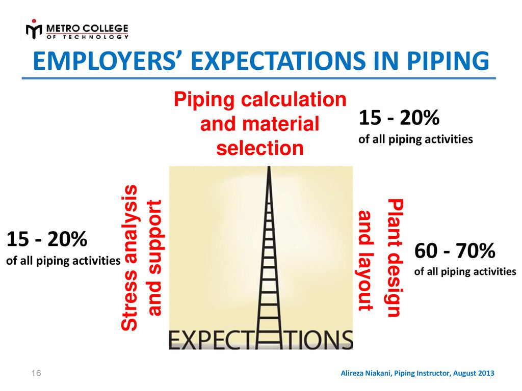 Fundamentals Of Process Plant Piping Design Ppt Download Layout And Pictures Employers Expectations In