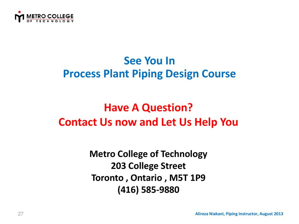 Fundamentals Of Process Plant Piping Design Ppt Download Layout Course 27 Have