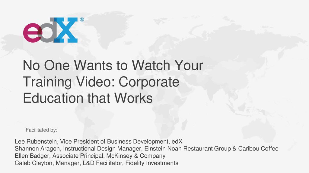 No One Wants to Watch Your Training Video: Corporate