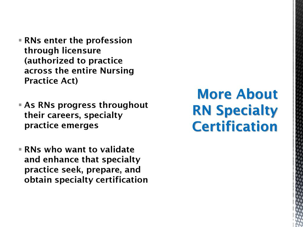 Rn Specialty Certification Ppt Download