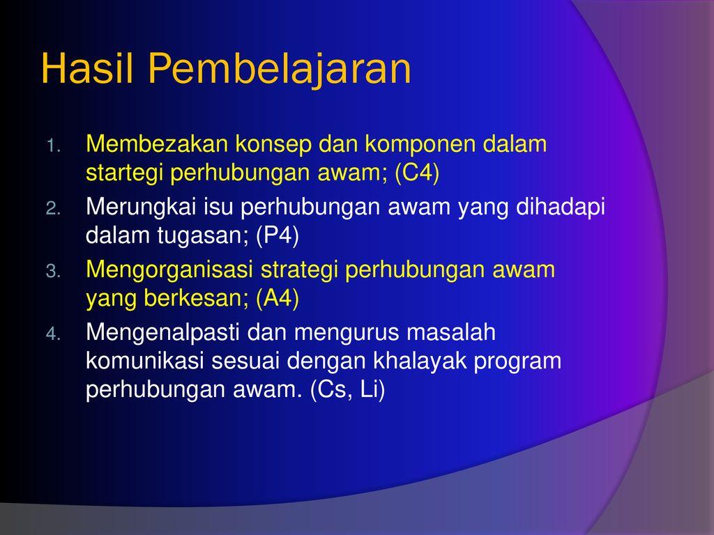 Ftf2 Pjj Strategi Perhubungan Awam Koc 3431 Ppt Download