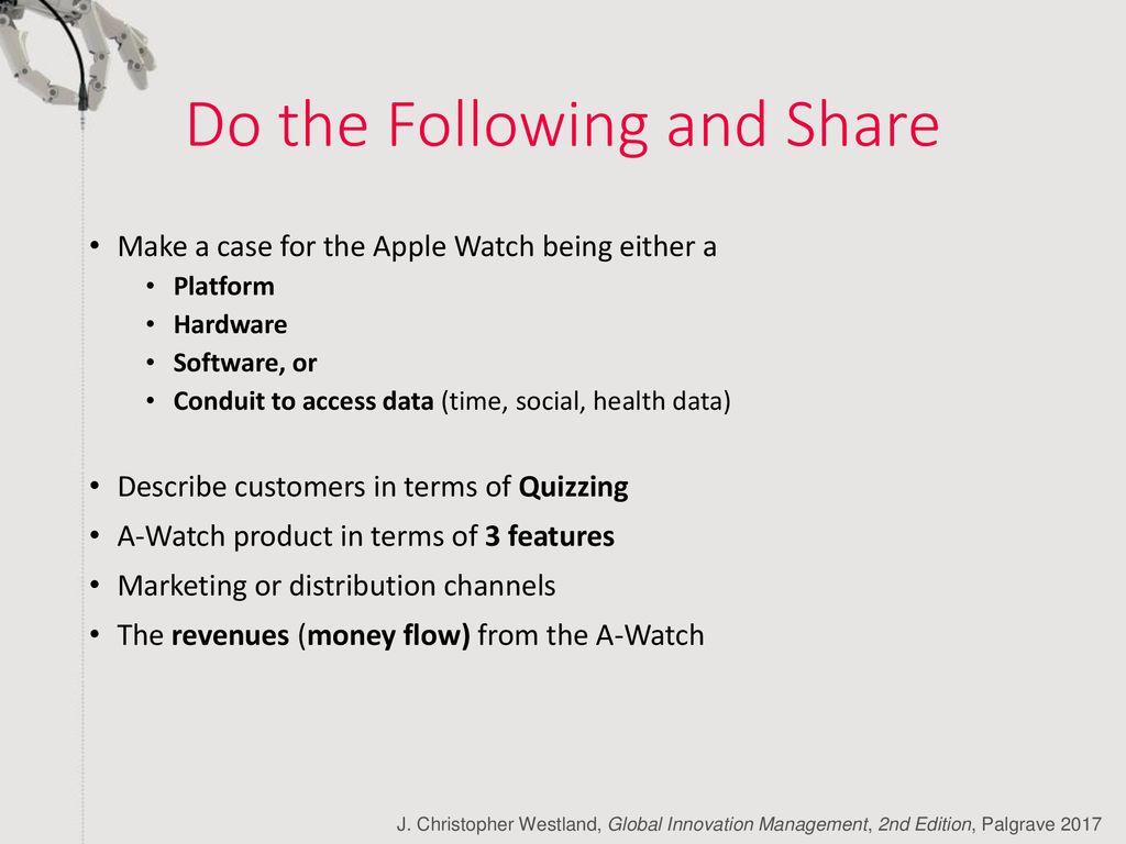 apple watch distribution channels