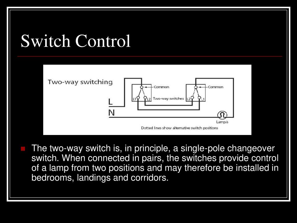 53 Building Electrical Supply Ppt Download Twoway Landing Switch Wiring Diagram Control