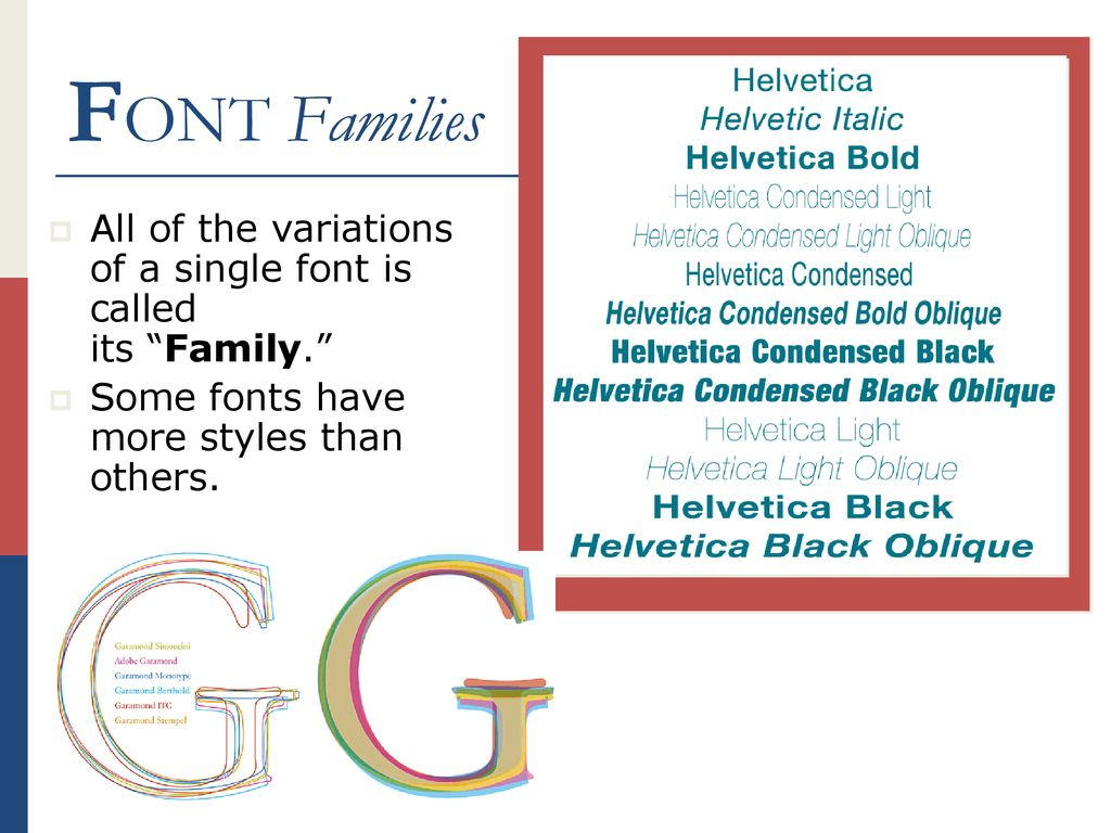 Selecting appropriate typefaces for a document  - ppt download
