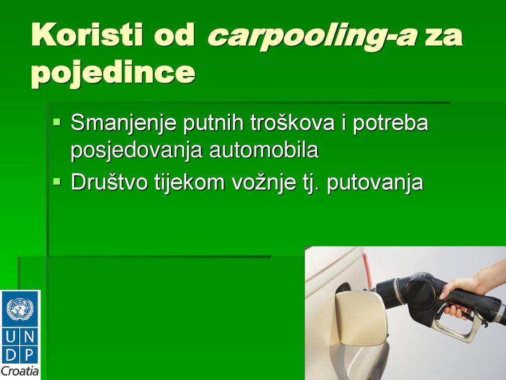 "CARPOOLING ili ""ZAJEDNO NA POSAO"" - ppt download"