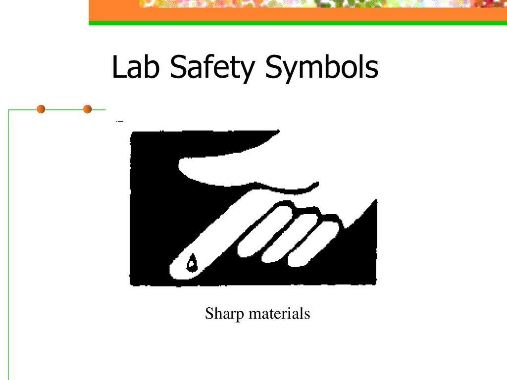 Lab Safety Symbol Sharp Topsimages
