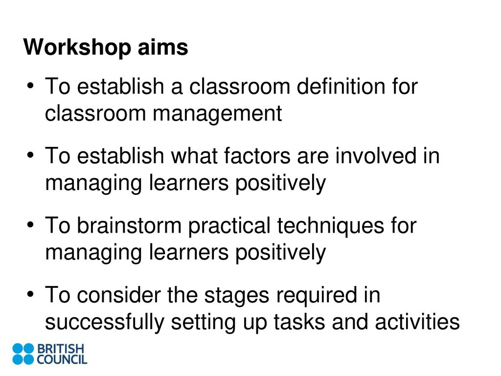 classroom management strategies peter lucantoni - ppt download