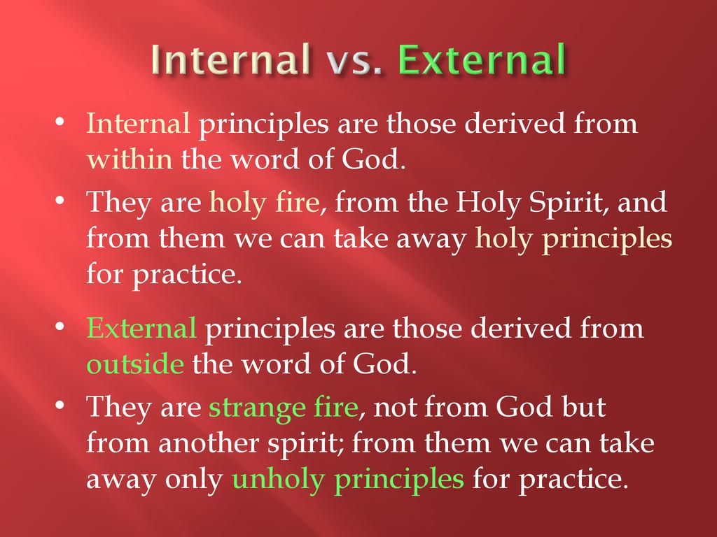 Strange Fire on God's Altar - ppt download
