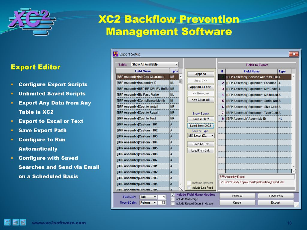 Complete Management of your Entire Backflow Program - ppt download
