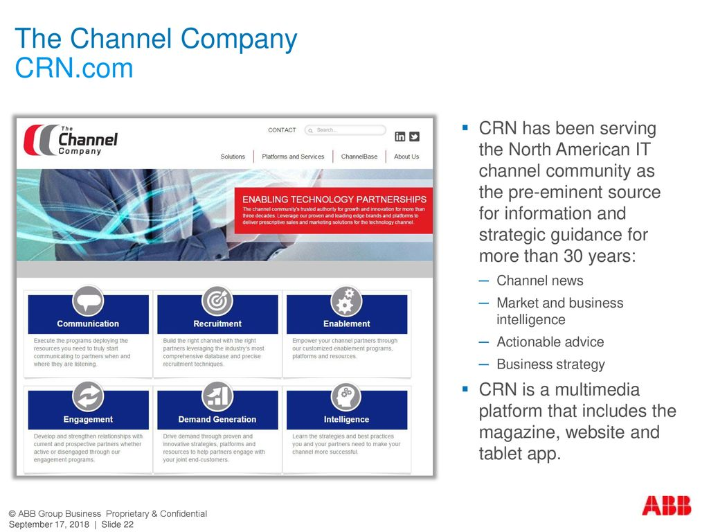 The Channel Company CRN.com