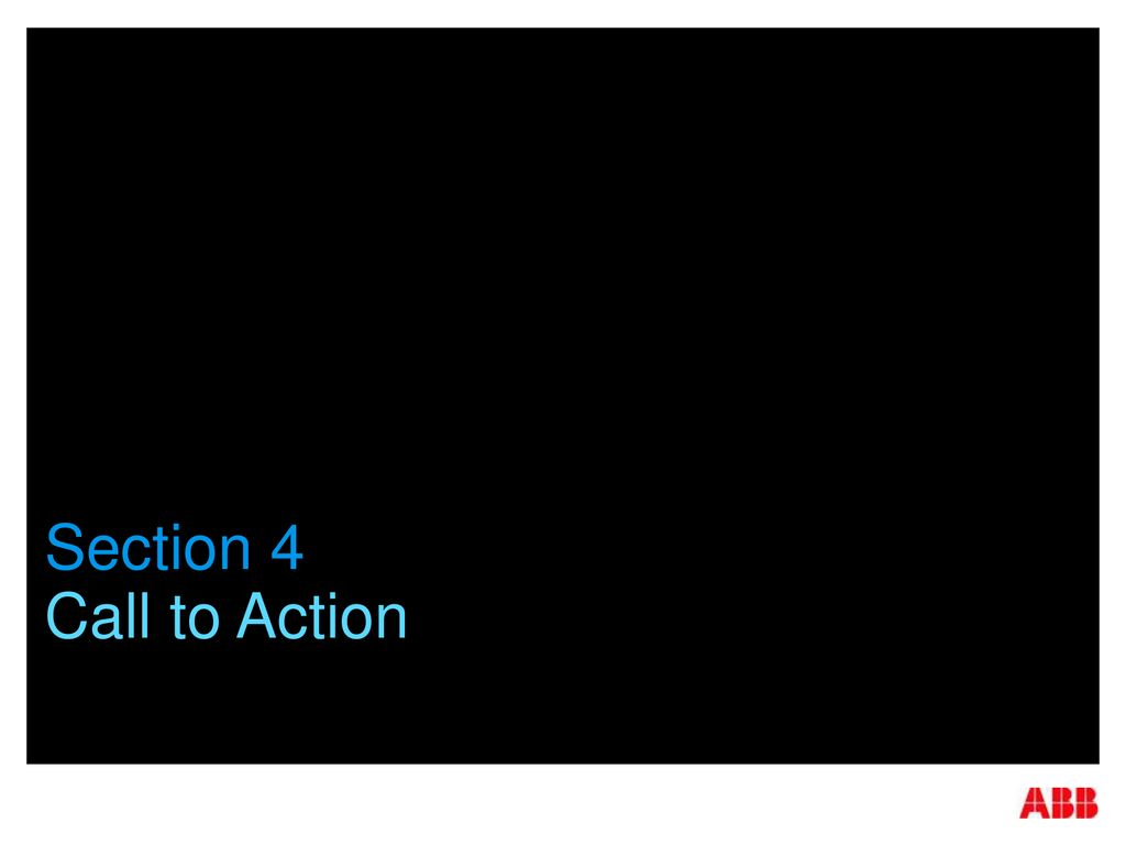 Section 4 Call to Action
