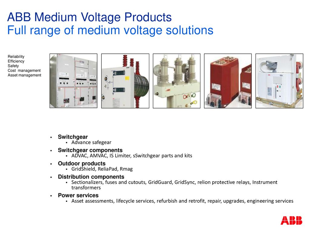 ABB Medium Voltage Power Products - ppt download