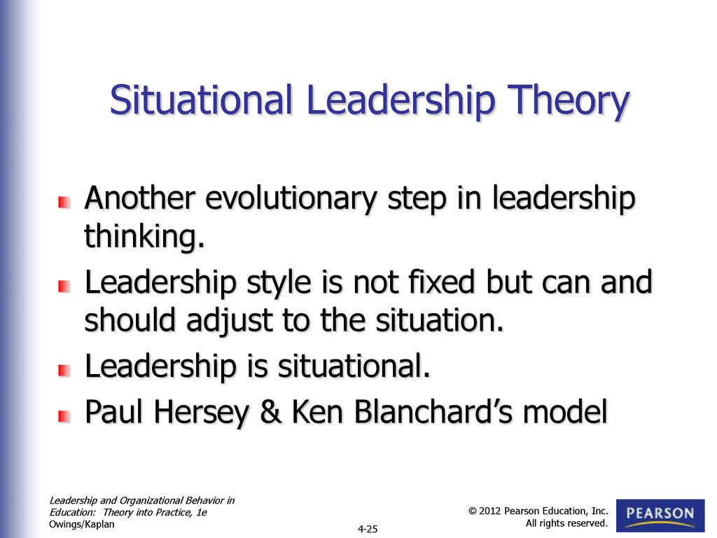 Situational leadership after 25 years