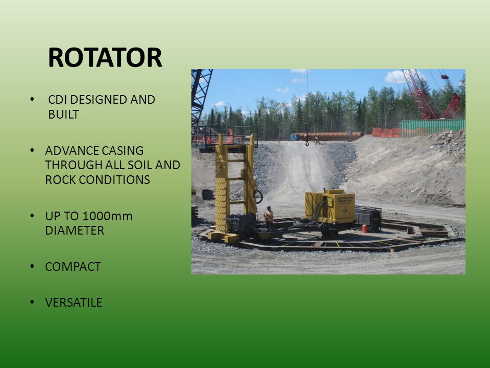 ROTATOR CDI DESIGNED AND BUILT