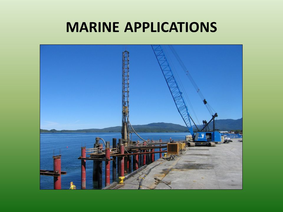 MARINE APPLICATIONS